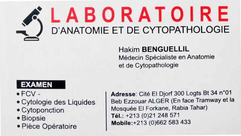ANAPATH DOCTEUR BENGUELLIL