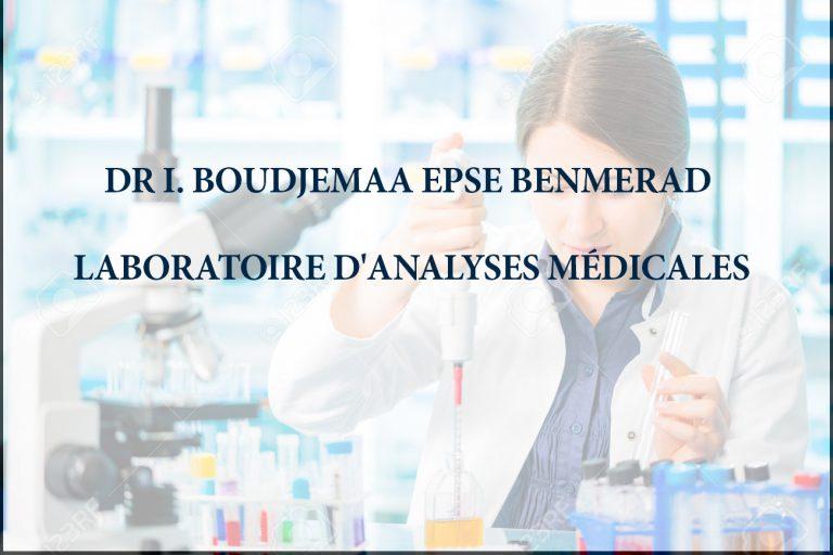 Laboratoire d'Analyses Médicales Dr.I.BOUDJEMAA EPSE BENMERAD